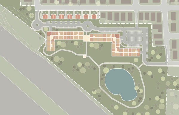 "Oaktree Development's plan for the Mugar site, which it calls ""Thorndike Place.""/ Oaktree Development"