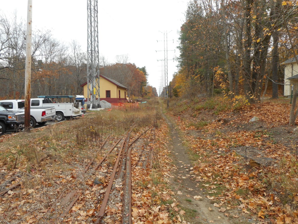 Mass Central Rail Trail S Westward Progress Belmont Citizens Forum